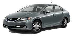 Civic Hybrid near Johnson City