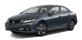 Tenafly Honda - 2013 Honda Civic Sedan Automatic with Leather EX-L
