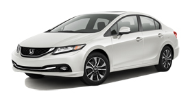 2013 Honda Civic Sedan Automatic with Leather EX-L