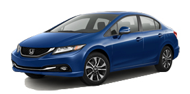 Fresno Honda - 2013 Honda Civic Sedan Automatic with Leather and Navigation EX-L