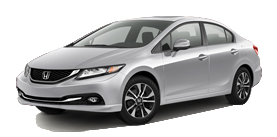 2013 Honda Civic Sedan Automatic with Leather and Navigation EX-L