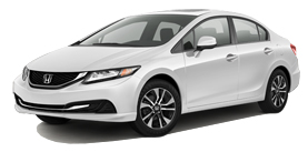2013 Honda Civic Sedan Automatic with Navigation EX