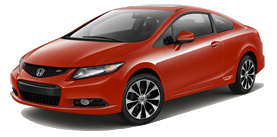 2013 Honda Civic Si Coupe With Summer Tires and Navigation Base