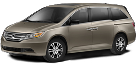 2013 Honda Odyssey With Leather EX-L