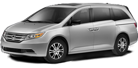 Paramus Honda - 2013 Honda Odyssey With Leather and DVD RES EX-L