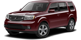 2013 Honda Pilot With Leather EX-L
