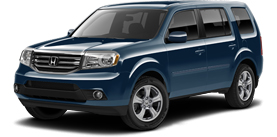 Poway Honda - 2013 Honda Pilot With Leather and Navigation EX-L