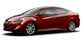 2013 Hyundai Elantra Limited 4D Sedan