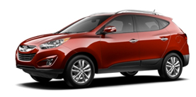 2013 Hyundai Tucson 2.4L 4-Cyl Automatic - PZEV  Limit