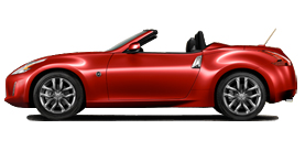 2013 Nissan 370Z Roadster 3.7L Automatic Touring
