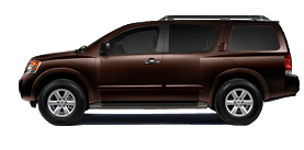 2013 Nissan Armada 5.6L V8 Automatic SV