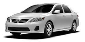 2013 Toyota Corolla 4D Sedan