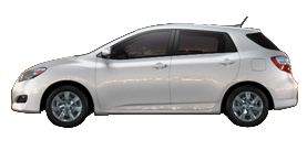 2013 Toyota Matrix 5-Speed Automatic S
