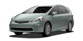 2013 Toyota Prius v Prius Wagon Two