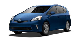 2013 Prius v Prius v Two Base