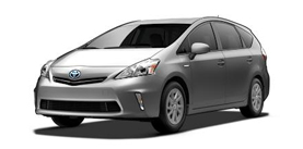 2013 Toyota Prius v Prius Wagon Three