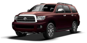 2013 Toyota Sequoia 4x4 FFV Limited