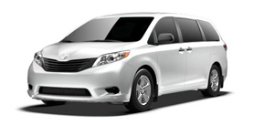 2013 Toyota Sienna 7 Passenger V6 L