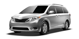 2013 Sienna 8 Passenger V6 LE