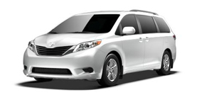 2013 Toyota Sienna 7 Passenger V6 LE