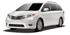 2013 Toyota Sienna 7 Passenger V6 Limited