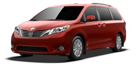 San Fernando Toyota - 2013 Toyota Sienna 7 Passenger V6 Limited