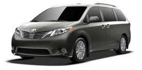 2013 Toyota Sienna 7 Passenger V6 Limited near Escondido