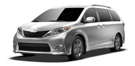 2013 Toyota Sienna 8 Passenger V6 SE