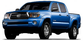 2013 Tacoma 4x2 Double Cab, Automatic Base