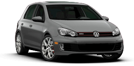 2013 Volkswagen GTI PZEV with Sunroof and Navigation