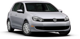 2013 Volkswagen Golf 2.5L PZEV Convenience and Sunroof