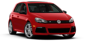 2013 Volkswagen Golf R 2.0L with Sunroof and Navigation