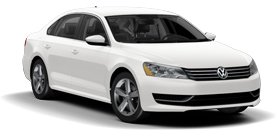 2013 Volkswagen Passat 2.5L PVEZ with Sunroof and Navigation SE