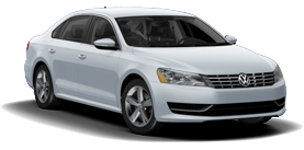 2013 Volkswagen Passat 2.0L with Sunroof and Navigation SE TDI
