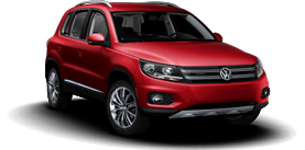  Tiguan 2.0T with Sunroof and Navigation SE