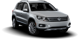 2013 Volkswagen Tiguan 2.0T with Sunroof and Navigation SE