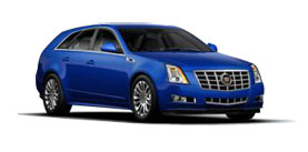 2014 Cadillac CTS Sport Wagon Performance Collection 3.6L AWD 1SF