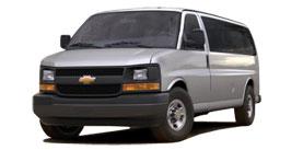 Express Passenger Van near Bluffton