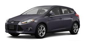 2014 Ford Focus Titanium 4D Hatchback