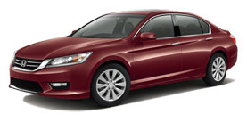 Johnson City Honda - 2014 Honda Accord Sedan 3.5 V6 with Leather and Navigation EX-L