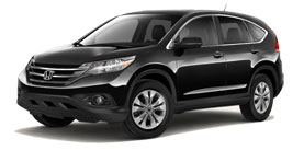 2014 Honda CR-V With Navigation EX-L