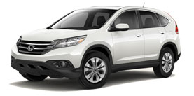 2014 Honda CR-V With Navigation EX-L