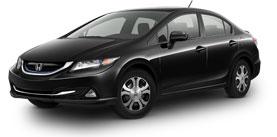 2014 Honda Civic Hybrid With Navigation Base