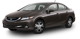 2014 Honda Civic Hybrid With Navigation Base