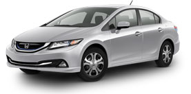 2014 Honda Civic Hybrid With Leather and Navigation Base