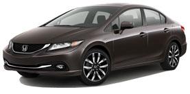 2014 Honda Civic EX-L 4D Sedan
