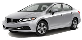 2014 Honda Civic LX 4D Sedan