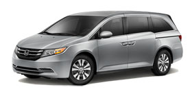 2014 Honda Odyssey With Leather and Navigation EX-L