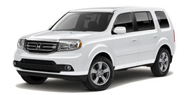 2014 Honda Pilot With Leather and Navigation EX-L