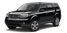 2014 Honda Pilot With Leather and RES EX-L